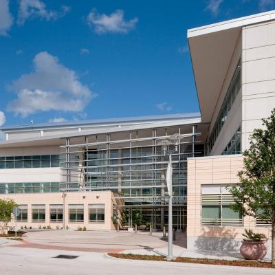 Exterior photo of the AdventHealth Research Institute