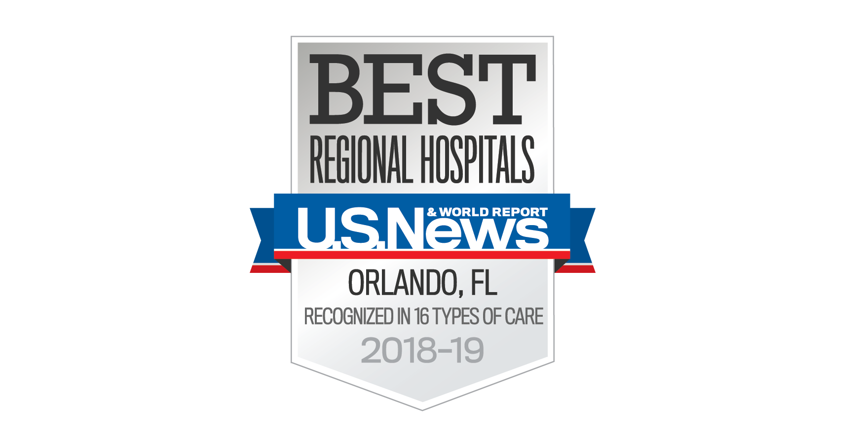 U.S. News and World Report Best Regional Hospitals logo