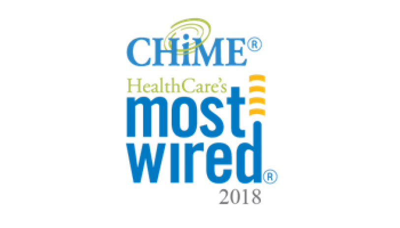 CHIME Most Wired Hospitals and Health Systems logo